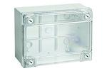 ДКС Коробка ответвит. с гладкими стенками, прозрачная, IP56, 240х190х90мм