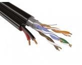 SyncWire FTP 4PR 24AWG CAT5e+2х0.75 Indoor Кабель