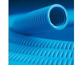 ДКС Труба ППЛ гибкая гофр. д.20мм, тяжёлая с протяжкой, 100м, цвет синий