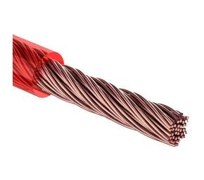 """Кабель силовой """"Power Cable"""" 1х6мм?, красный, 50м., d 6,0 мм. REXANT"""